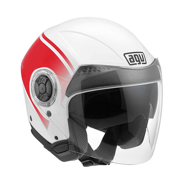 Picture of AGV City New Citylight World White/Red