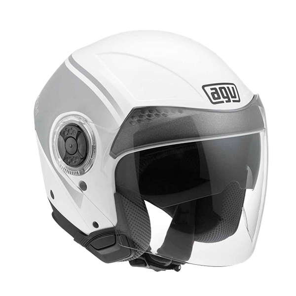 Bild von AGV City New Citylight World White/Gunmetal