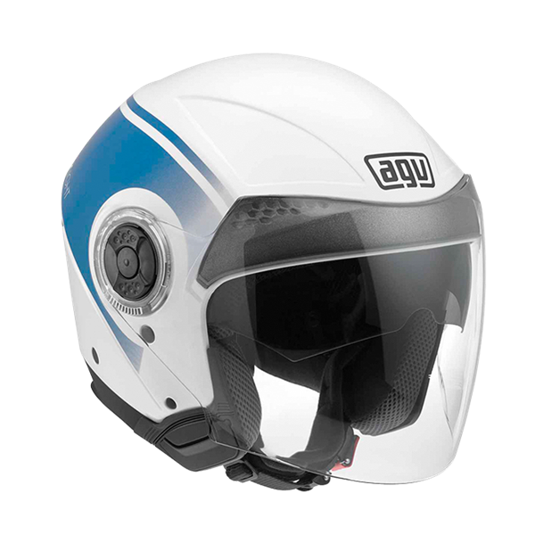Bild von AGV City New Citylight World White/Blue