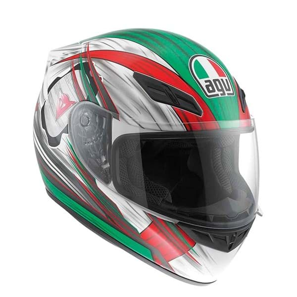 Bild von AGV Street Road K-4 EVO Hang on White/Red/Green