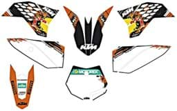 "Picture of KTM - USA Factory Grafik Kit 50 SX ""09>"