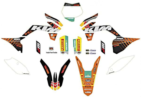 "Picture of KTM - Factory Graphics Kit 85 SX ""13>"
