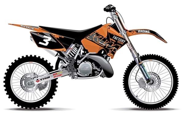 Bild von KTM - USA Factory Grafik Kit
