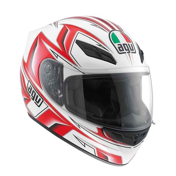Bild von AGV Street Road K-4 EVO Arrow White/Red