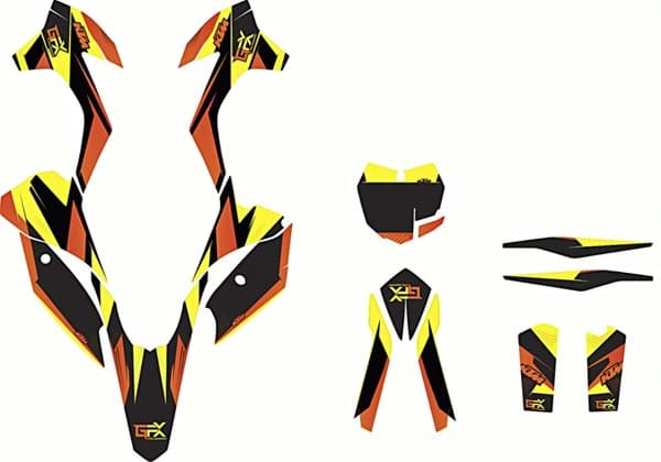 Bild von KTM - Graphic-Kit Gravity