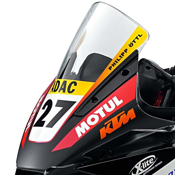 "Bild von KTM - Windschild ""Racing Bubble"""
