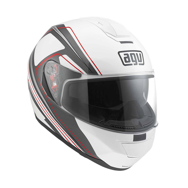 Picture of AGV GT Strada Vision White/Grey/Red
