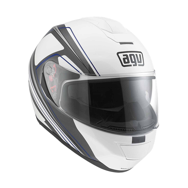 Picture of AGV GT Strada Vision White/Grey/Blue