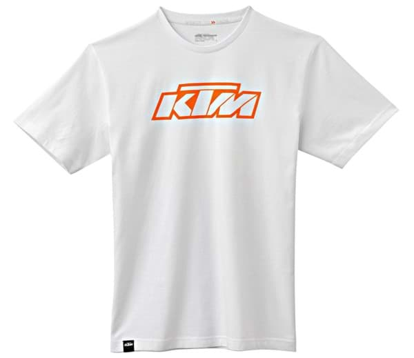 Picture of KTM - T-Shirt SX Logo Tee White