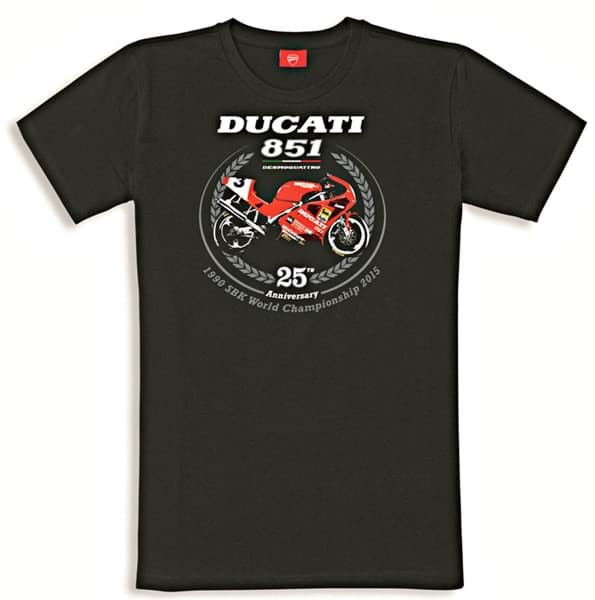 Picture of Ducati - T-Shirt Graphic Art – 851 XXV Jahrestag