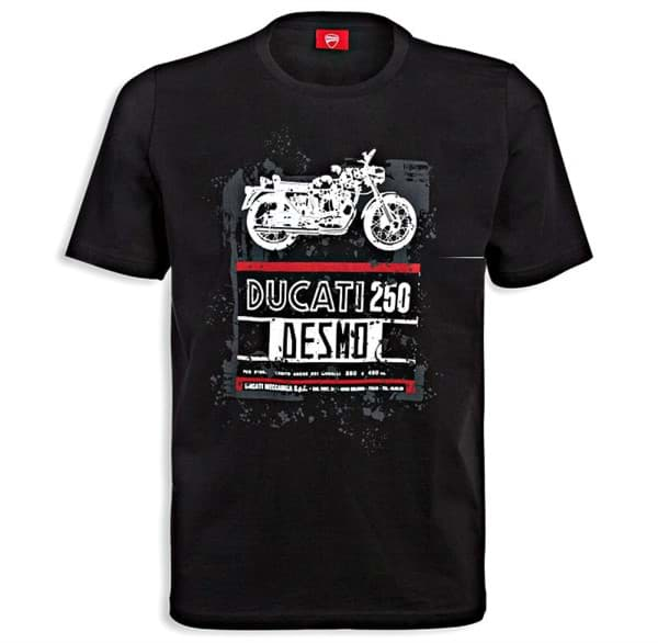 Picture of Ducati - T-Shirt Graphic Art – 250 Desmo
