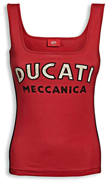 Picture of Ducati - Damen Ärmelloses Shirt Meccanica