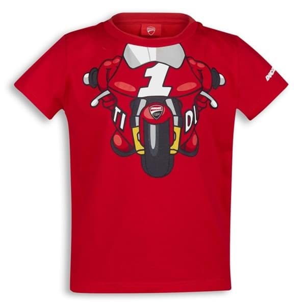 Picture of Ducati - T-Shirt Little Rider Kinder