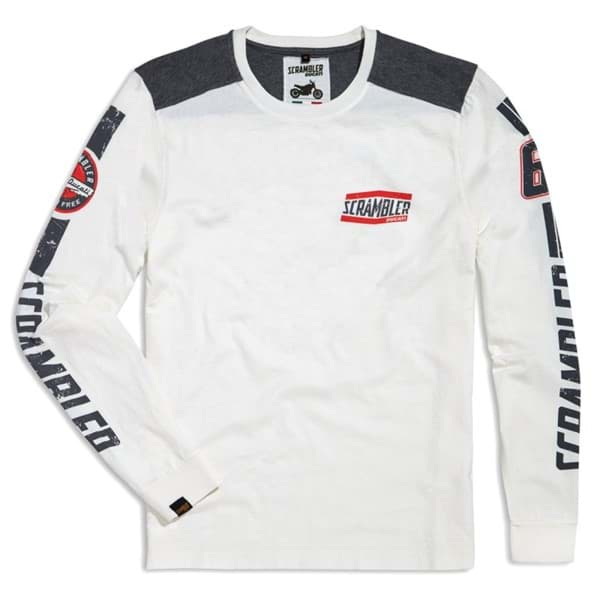 Picture of Ducati - Flat Track Langärmeliges T-Shirt