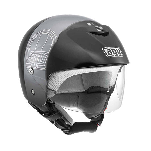Bild von AGV City Bali II Stripe Black/Gunmetal