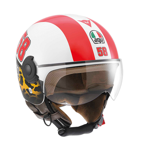 Bild von AGV City Bali Copter Simoncelli Tribute