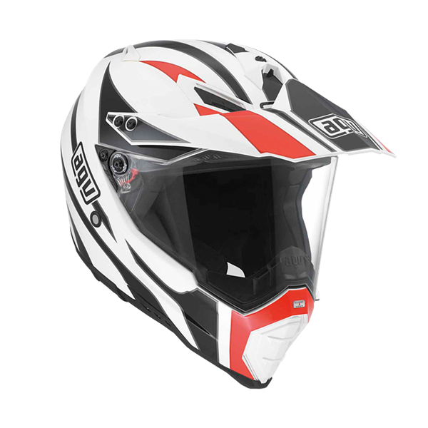 Bild von AGV Off-Road AX-8 Evo Tour White/Black/Red