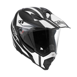 Picture of AGV Off-Road AX-8 Dual Evo Tour Black/White