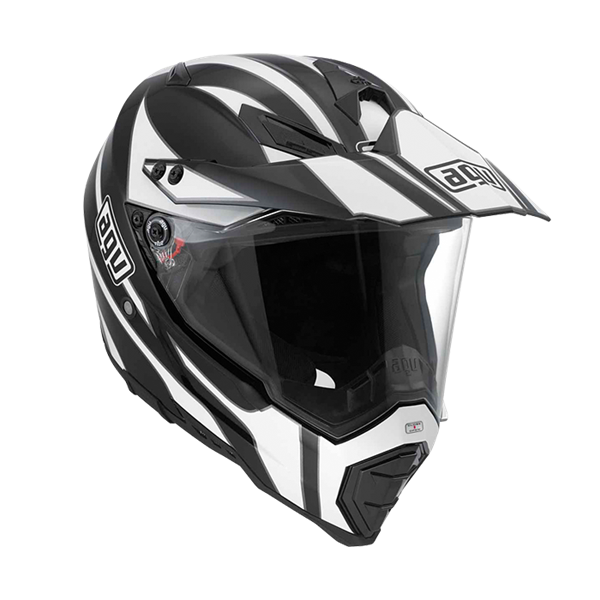 Bild von AGV Off-Road AX-8 Dual Evo Tour Black/White