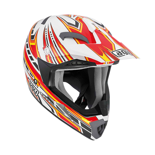 Bild von AGV Off-Road MT-X Point White/Red/Yellow