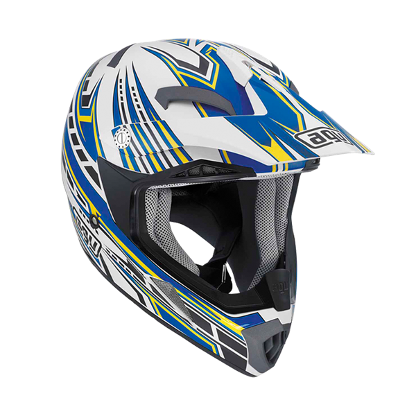 Bild von AGV Off-Road MT-X Point White/Blue