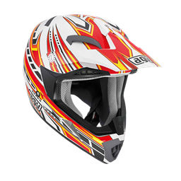 Bild von AGV Off-Road MT-X Junior Point White/Red/Yellow
