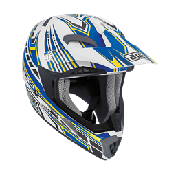 Bild von AGV Off-Road MT-X Junior Point White/Blue
