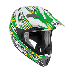 Bild von AGV Off-Road MT-X Junior Point White/Green
