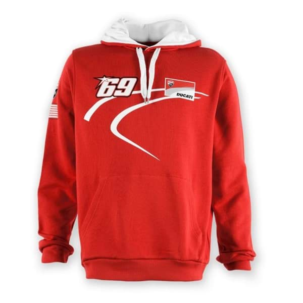 Picture of Ducati Nicky D69 Sweatshirt mit kapuze