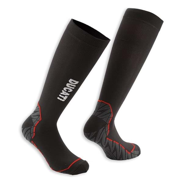 Picture of Ducati socks Tour 14 black with grey and red inserts
