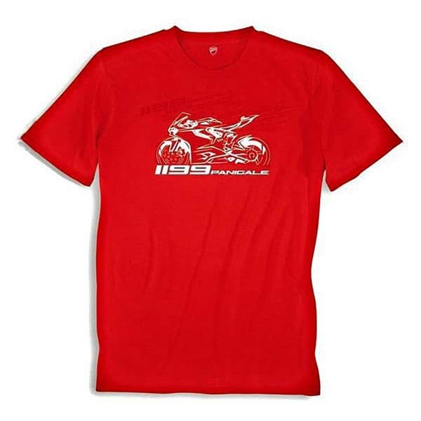 Picture of Ducati T-Shirt 1199 Panigale Red