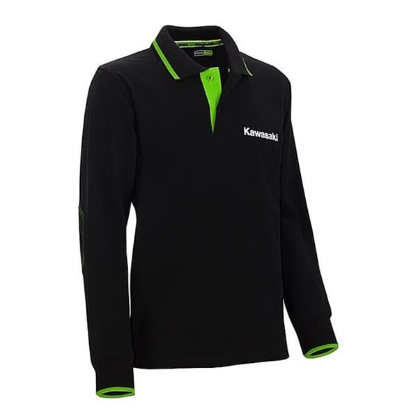 Picture of Kawasaki - Herren Sports Polo Langarm