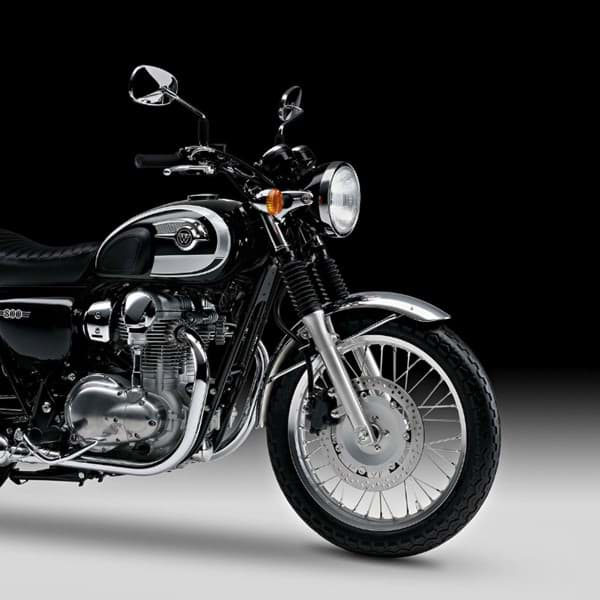 Picture of Kawasaki W800 Kotflügel Chrom (Vorne)