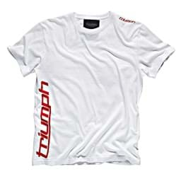 Picture of Triumph - Sports Script T-Shirt (Weiss)