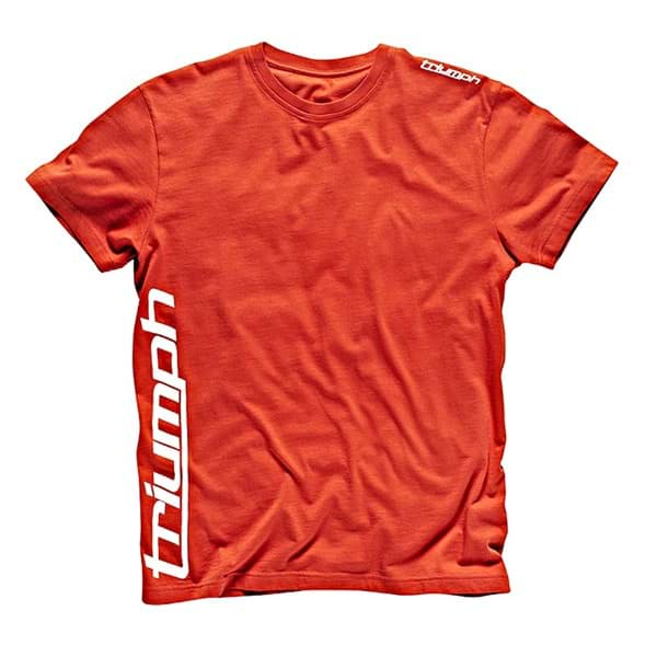 Picture of Triumph - Sports Script T-Shirt (Rot)