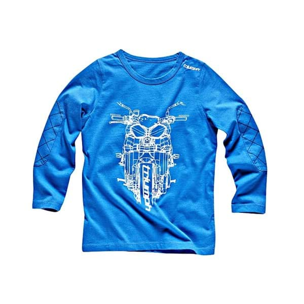 Picture of Triumph - Kinder JNR Script T-Shirt Blau