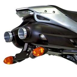 Picture of Yamaha Exhaust Cover Alu