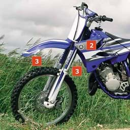 Picture of Yamaha Graphic Set YZ125/YZ250