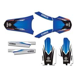 Bild von Yamaha YZ250F/YZ450F '06-'07 Sticker Kit Blue/White