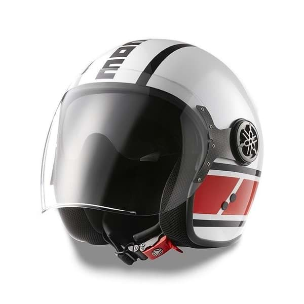 Picture of MD Jet Helmet Speedblock White/Red
