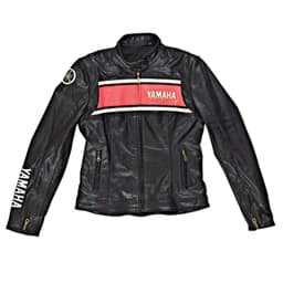 Bild von Yamaha Classic Casual Leather Jacket - Black