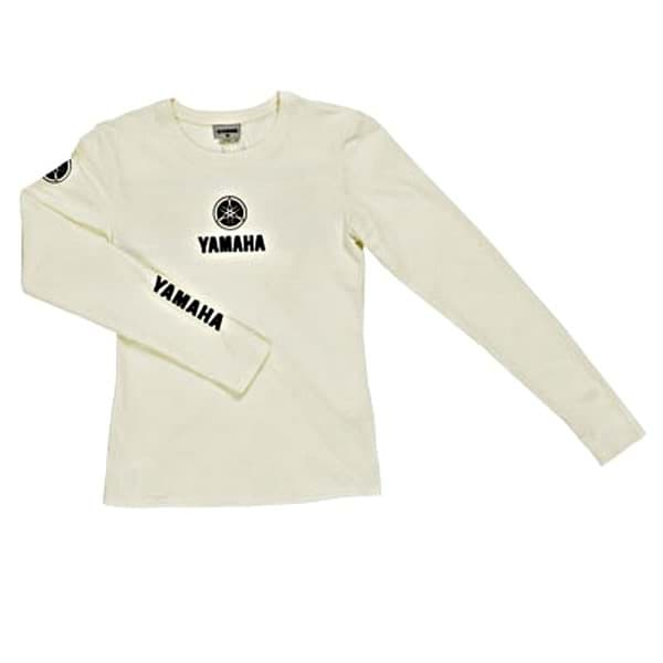 Bild von Yamaha Classic T-shirt Long Sleeve - Broken White